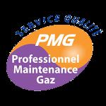 logo qualité PMG PROFESSIONNEL MAINTENANCE GAZ